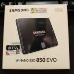 【SSD】Samsung「SSD 850 EVO」レビュー