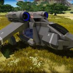 【Steam】Eleon Game Studios「Empyrion – Galactic Survival」A8 SV(飛行機)を作るようです #5