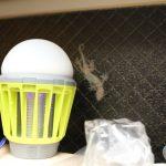 【殺虫器】enkeeo「UV光源誘引式 電撃殺虫器」新たなる住人の登場