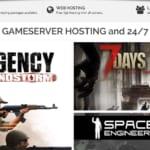 【Steam】The Fun Pimps「7 Days to Die」A17 マルチ用にPingPerfectでレンタルサーバーを借りてみた