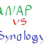 【NAS】QNAPとSynologyどっちがいいのか検討してみる