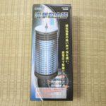 【殺虫】オーム電機「電撃殺虫器 OBK-06S(B) 」レビュー
